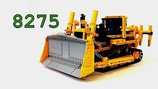 Lego Technic Bulldozer 8275 Review – Моторизованный Бульдозер – Легенды Лего Техник – Обзор №8