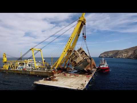 Smit Salvage   Cabrera wreck removal