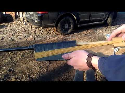 Самое мощное самодельное резино-поршневое ружьё!