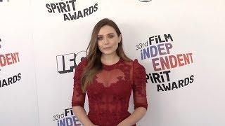 Elizabeth Olsen at 2018 Film Independent Spirit Awards