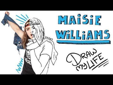 MAISIE WILLIAMS | Draw My Life En Español