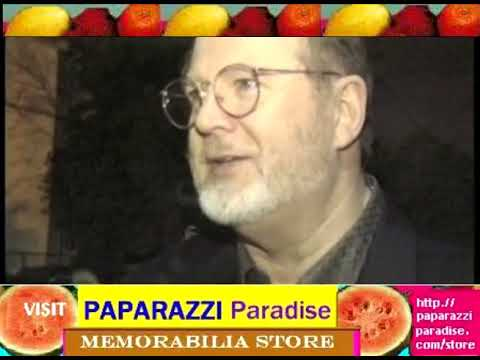 DAVID OGDEN STIERS graciously refuses to sign any autographs at CBS party
