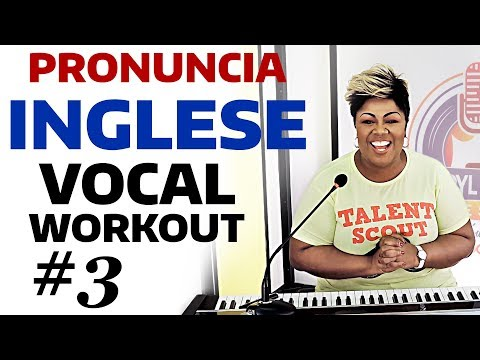 Cheryl Porter Vocal Workout - Pronuncia Inglese scioglilingua