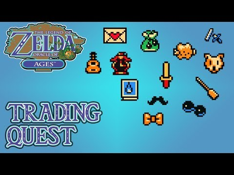 The Legend Of Zelda: Oracle Of Ages - Trading Quest