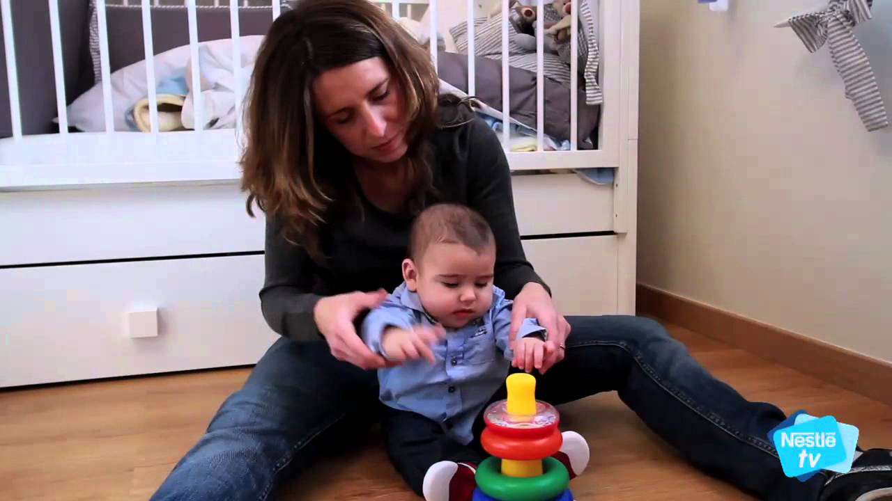 Desarrollo del beb a los 6 meses etapa 1 youtube - Bebe de 9 meses ...
