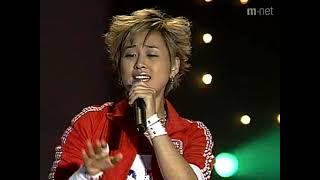[엠카운트다운] 파워풀한 여성락커!! 마야 - 진달래꽃 라이브 / 03.04.0…