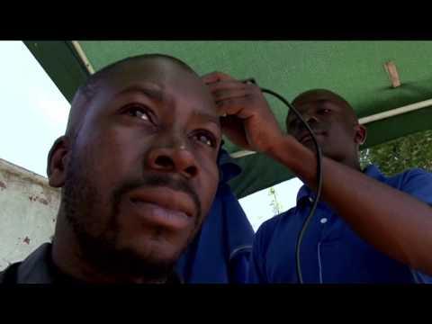 Vasco Mlangeni Street Barber Shop [Soweto TV]