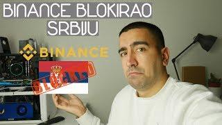 Binance Blokirao Srbiju?