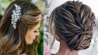 CUTE & EASY Hairstyles , Most Beautiful Hairstyles |How To Style For Own Hair #1