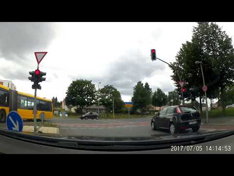 Driving in Berlin: Staaken - Westend ( Olympic Stadium Berlin ) 9km