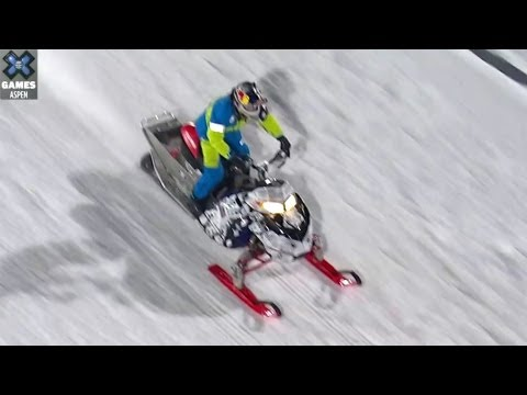 Generate Winter  X Games 2013: GoPro Snowmobile Best Trick - Daniel Bodin Pictures