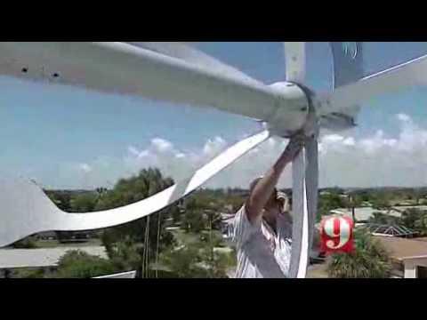 Energy Ball V200 and Solar Power panels power AC system