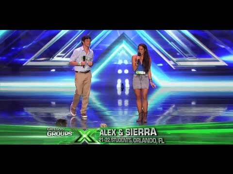 "Alex & Sierra ""Toxic"" - Audition - The X Factor USA 2013"