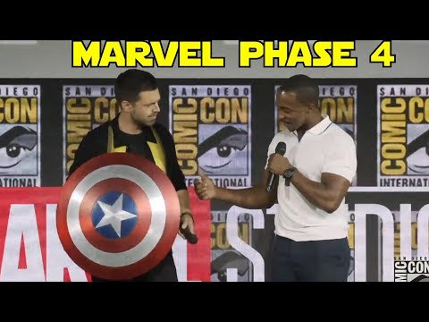 Marvel Phase 4 Comic-con Highlights