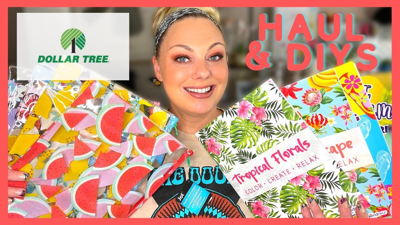 DOLLAR TREE HAUL + CUTE EASY DIYS!