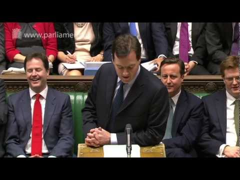 Budget 2012: 21 March