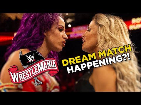 Trish Stratus Vs Sasha Banks At WrestleMania 36? AEW Confirm BIG Signing