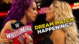 Trish Stratus vs Sasha Banks At WrestleMania 36? AEW Confirm BIG Signing
