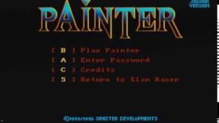 Painter Atari Jaguar CD Video Game Play 2010 Version