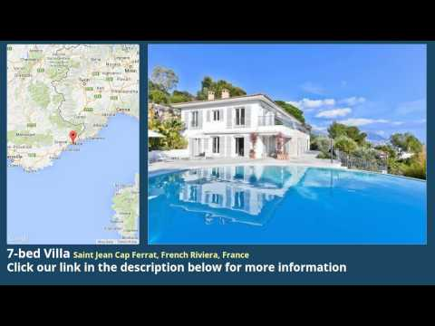 7-bed Villa for Sale in Saint Jean Cap Ferrat, French Riviera, France on frenchlife.biz