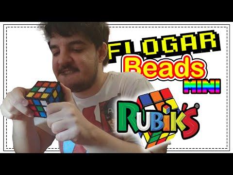 CUBO RUBIK 3D - DIY - Tutorial Pearl/Hama Beads para Gamers - FloGar o.O