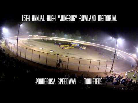 Ponderosa Speedway Modified Feature Track Cam July 24 , 2015