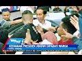 Warga Berebut Salaman di Depan Kediaman Jokowi di Solo - SIM 06/06