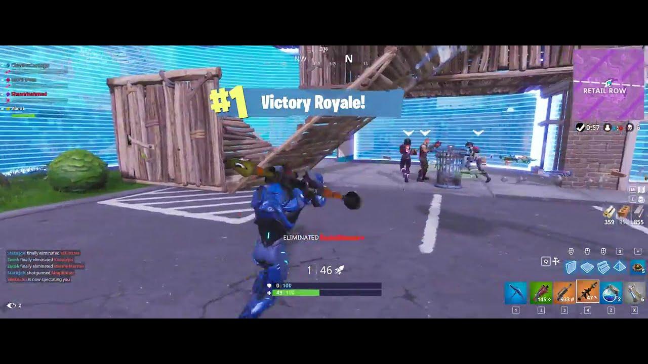 Fortnite: Triple Kill   Shot with GeForce - YouTube
