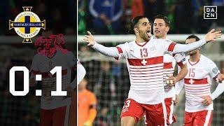 Schweiz legt in Belfast vor: Nordirland - Schweiz 0:1 Highlights | WM-Quali | DAZN
