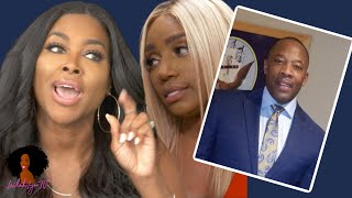 Kenya Moore Does A WHOLE Interview CONFIRMING NeNe's Alleged Affair  #rhoa