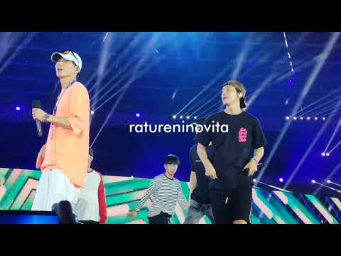 Super Junior - Mr. Simple - Rehearsal Asian Games 2018 Closing Ceremony