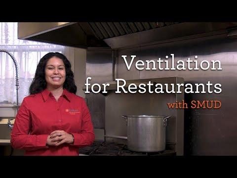 SMUD: Ventilation optimization for Restaurants