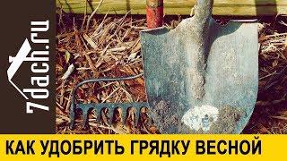 👩🌾 Как удобрить грядку весной, если это не было сделано осенью - 7 дач