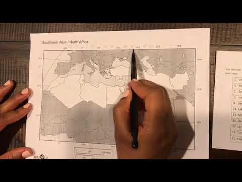 North Africa/Southwest Asia: Scavenger Hunt Demo