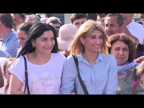 Эльпида+ (Открытие памятного мемориала грекам Понта в Ессентуках. май 2019)