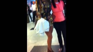 Tatiele Polyana e Roni Mazon em Recife.