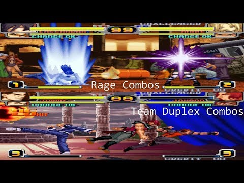Rage Of The Dragons - Rage, Team Duplex Combos!