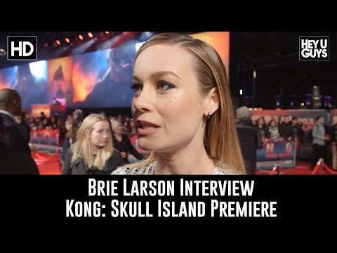 Brie Larson Interview - Kong: Skull Island Premiere