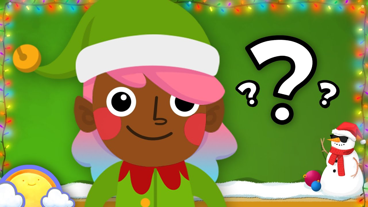 Christmas Guessing Game For Children Cheeritoons Youtube