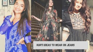 15 beautiful and trending designs for girls  kurti designs for jeans  modern look