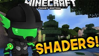SHADERS PARA DISPOSITIVOS GAMA BAJA- MEDIA | MINECRAFT POCKET EDITION 1.1.3-1.X.X