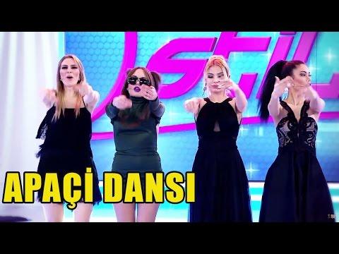 Yarışmacılardan OLAY Apaçi Dansı!
