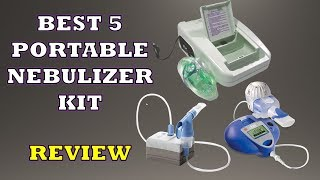 Top 5 Best Portable Nebulizer Inhalers Kit - Review [2018]