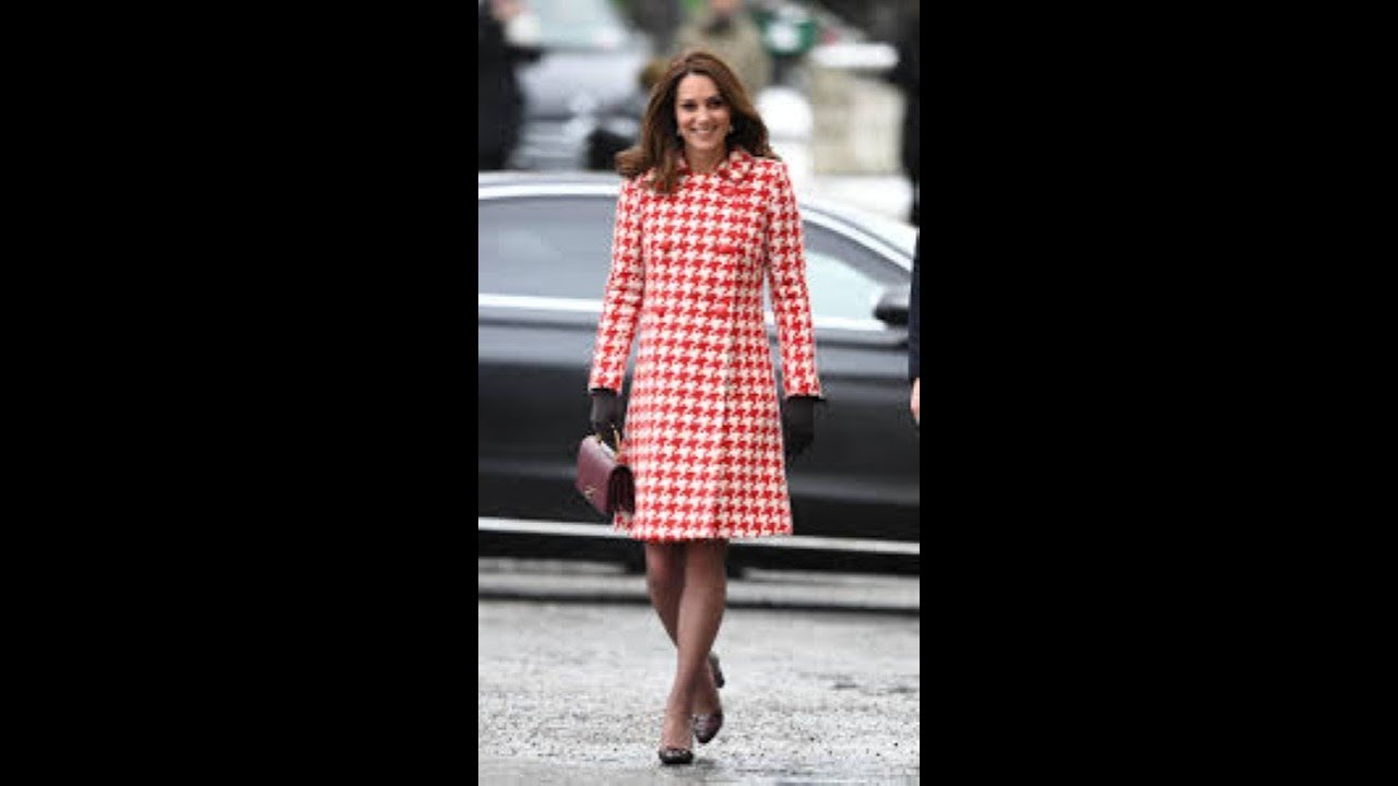 How Much Kate Middleton's Custom Red Hospital Dress Would Cost, According to ...