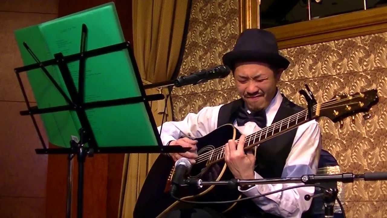 2014.2.8 たくろう☆ひろこ 結婚式余興 福山雅治 「家族になろうよ」 ギター弾き語り , YouTube