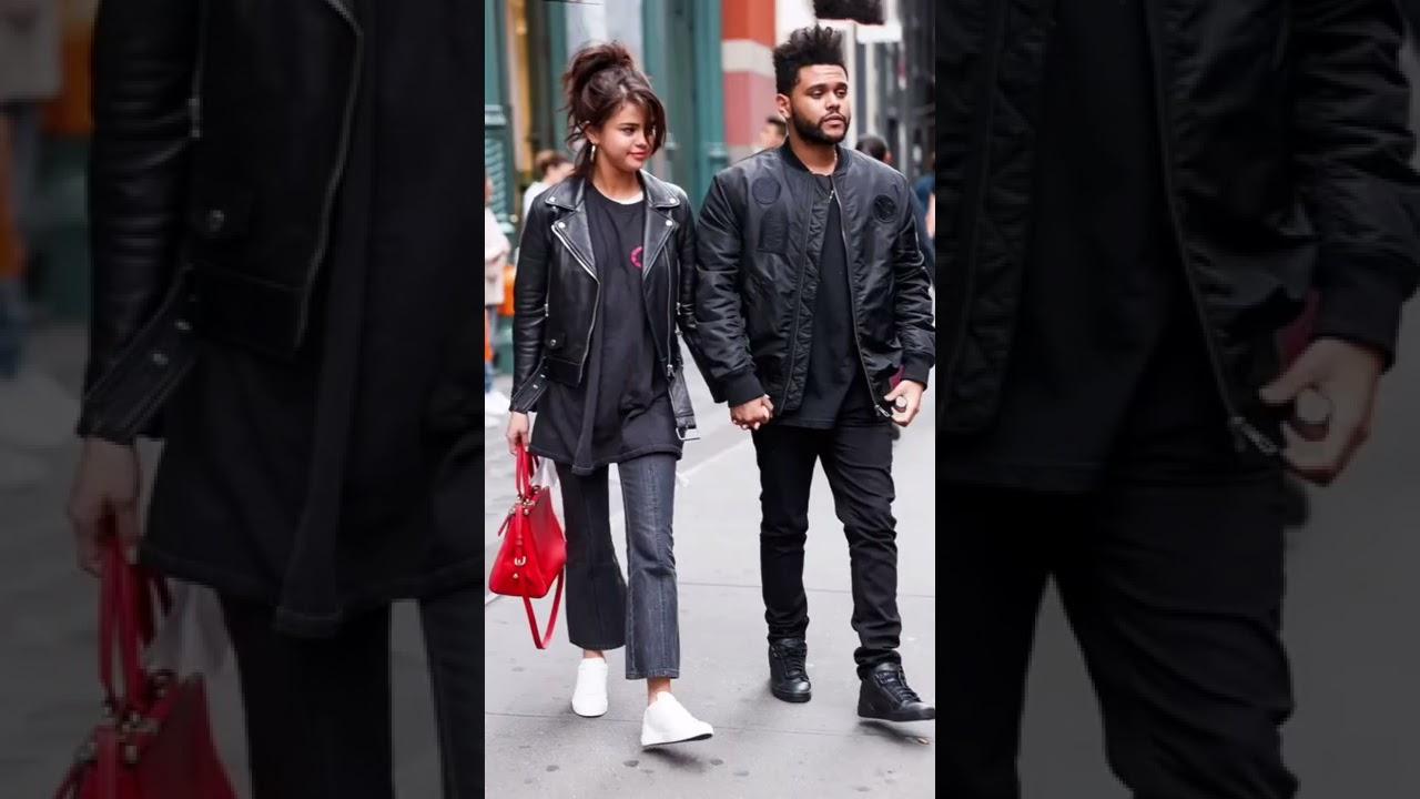 The Weeknd And Selena Gomez tiktok house.celebrity