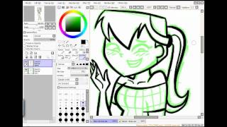 How to draw TDI girls on Paint Tool SAI