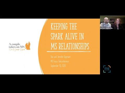 Keeping The Spark Alive In MS Relationships: Dan & Jennifer Digmann: September 2020