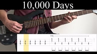 10,000 Days Wings Pt.2 Tool - Bass Cover With Tabs by Leo Dzey