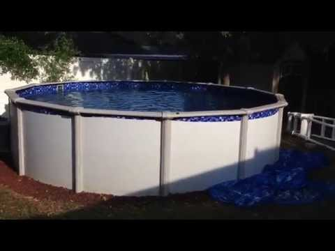 How To Shock An Above Ground Pool From Green To Blue